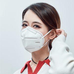n95 Maschera monouso per prevenire lo smog, prevenire la polvere e respirare liberamente