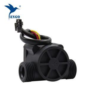 Tubi del sensore del flusso dell'acqua in materiale nero in PP