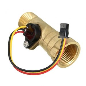 DC-5V-15mA-Ottone-1-2-pollici-Thread-Hall-Effect-acqua-Flow-Sensor-Switch-Flow-Meter