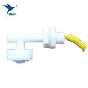 Interruttore galleggiante di plastica a forma di L mini orizzontale per serbatoio dell'acqua