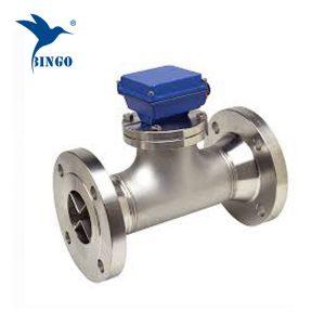 Sensore del misuratore di portata dell'acqua a turbina digitale filettato