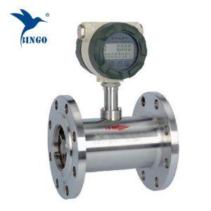 flussometro del consumo di carburante della turbina dell'acciaio inossidabile / flussometro del combustibile diesel