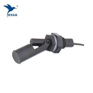 Interruttore a galleggiante magnetico a livello di liquidi a 2 conduttori montato orizzontalmente in plastica per alto / basso livello con segnale di commutazione