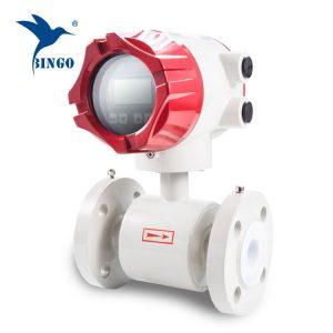 misuratore di portata elettromagnetico intelligente ea basso prezzo, famoso produttore di misuratori di portata d'acqua di marca.